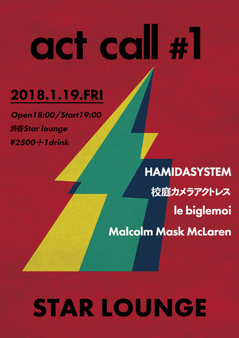 HAMIDASYSTEM presents「act call #1」