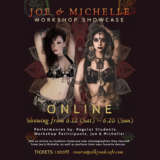 Joe & Michelle Workshop Showcase (ONLINE)