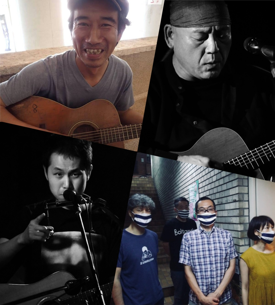 『ROCK' N' ROLL CIRCUS』出演:友情山脈 / 坂井ライ / 中馬すすむ / 野口明伸