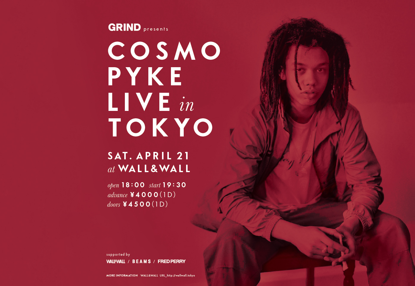 Cosmo Pyke LIVE in TOKYO