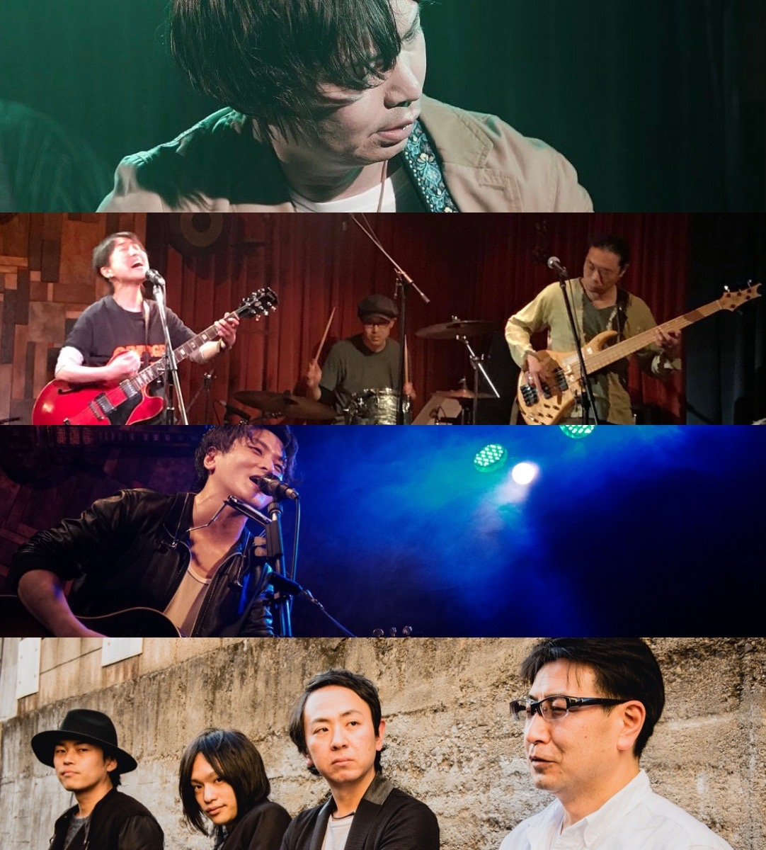 『青い空 君の空 僕の空』出演:プレジー3吉 / 真帆ばんど / 荒木林太郎 / 波紋