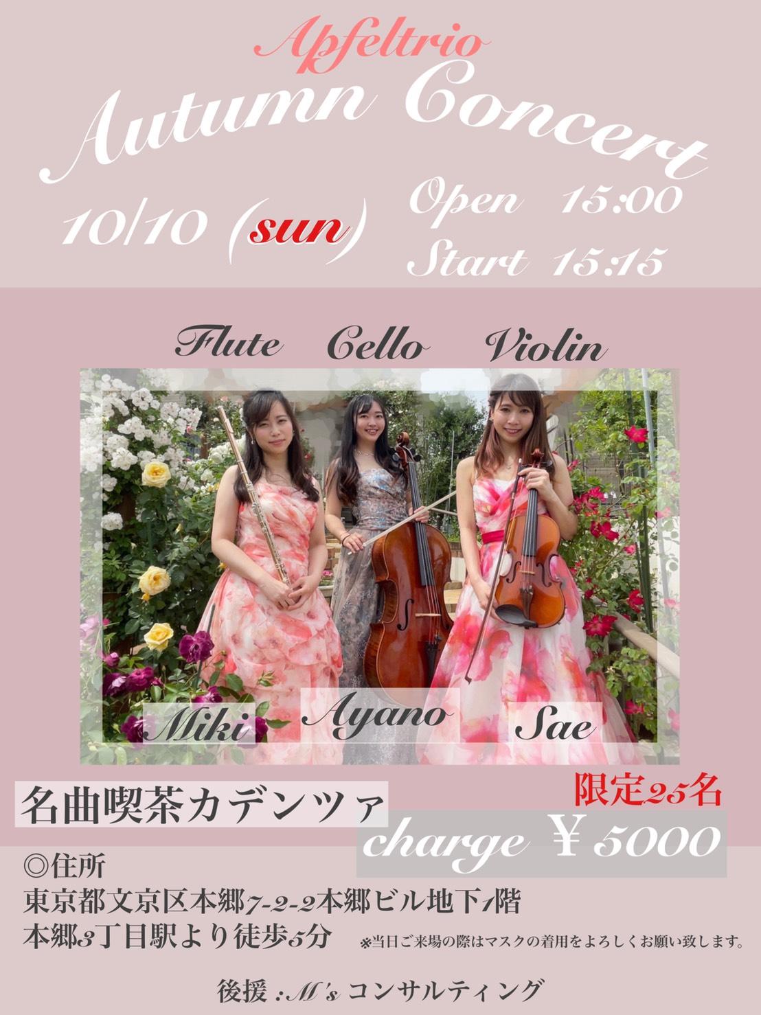 Apfel trio Live Concert