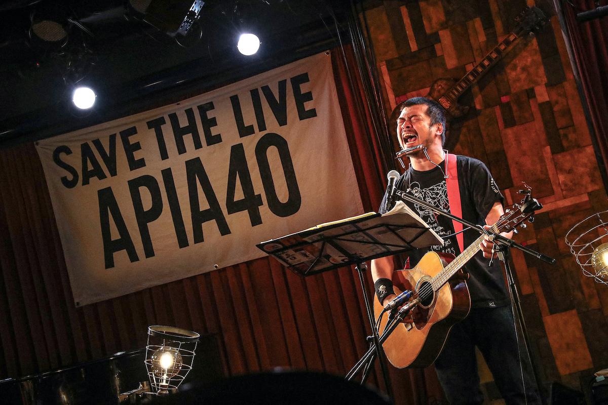 """『竹原ピストル LIVE AT APIA40 """"ONE MAN SHOW""""』※チケット抽選申し込みページ"""