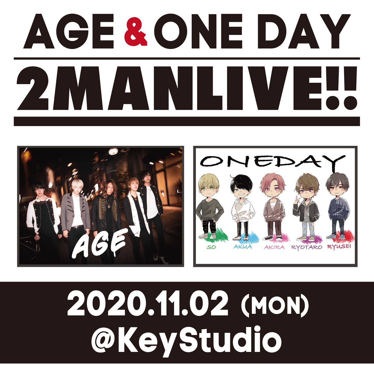 AGE&ONE DAY 2MAN LIVE PART.1