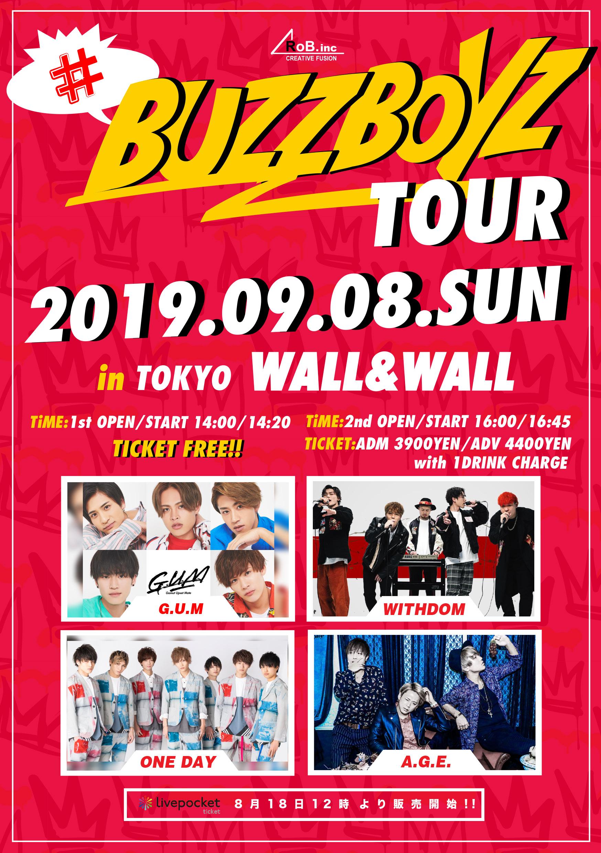 """""""#BUZZBOYZ TOUR""""in TOKYO"""