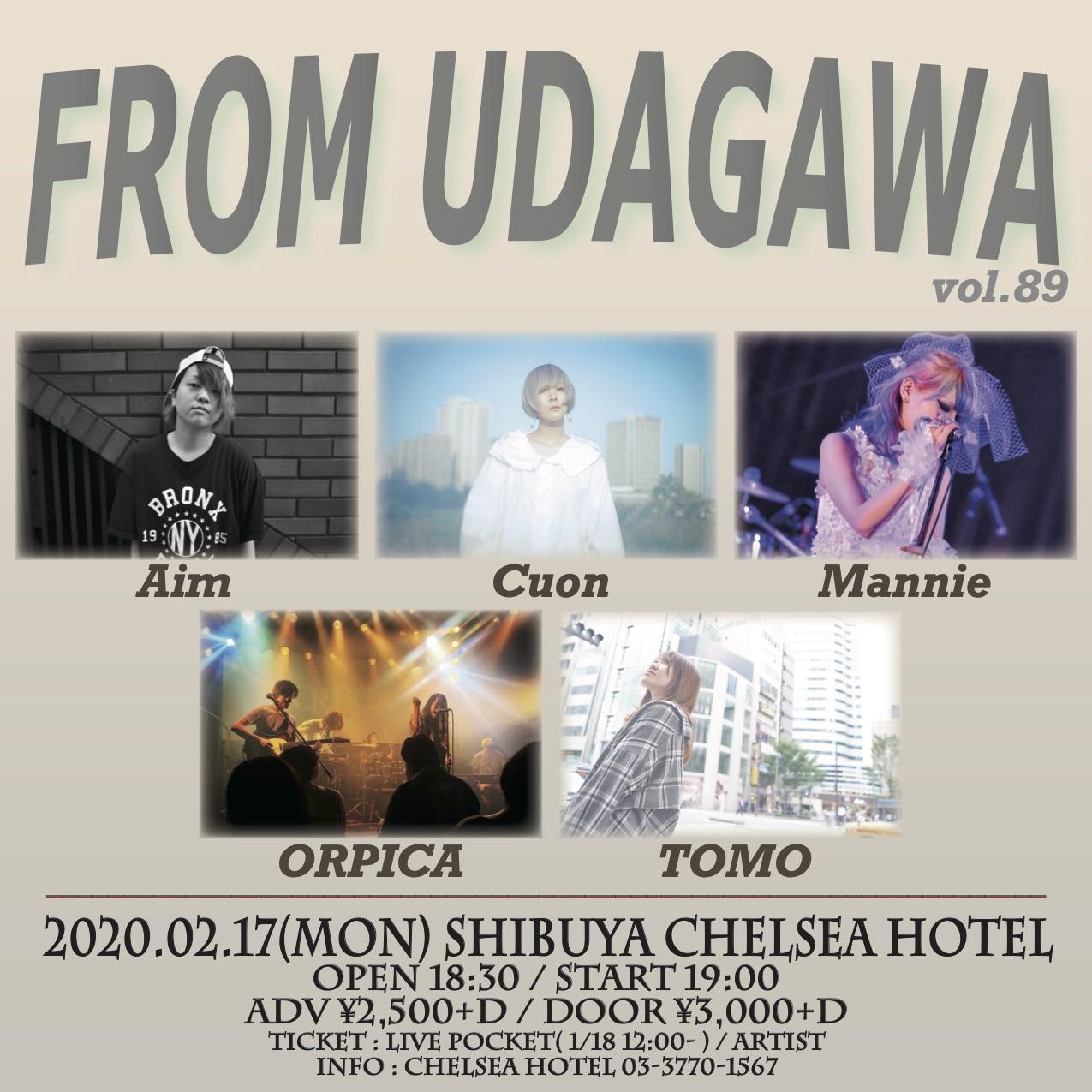 """FROM UDAGAWA""vol.89"