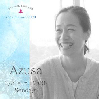 【ヨガ祭2020】トライアルクラスB(講師:Azusa sasagawa)