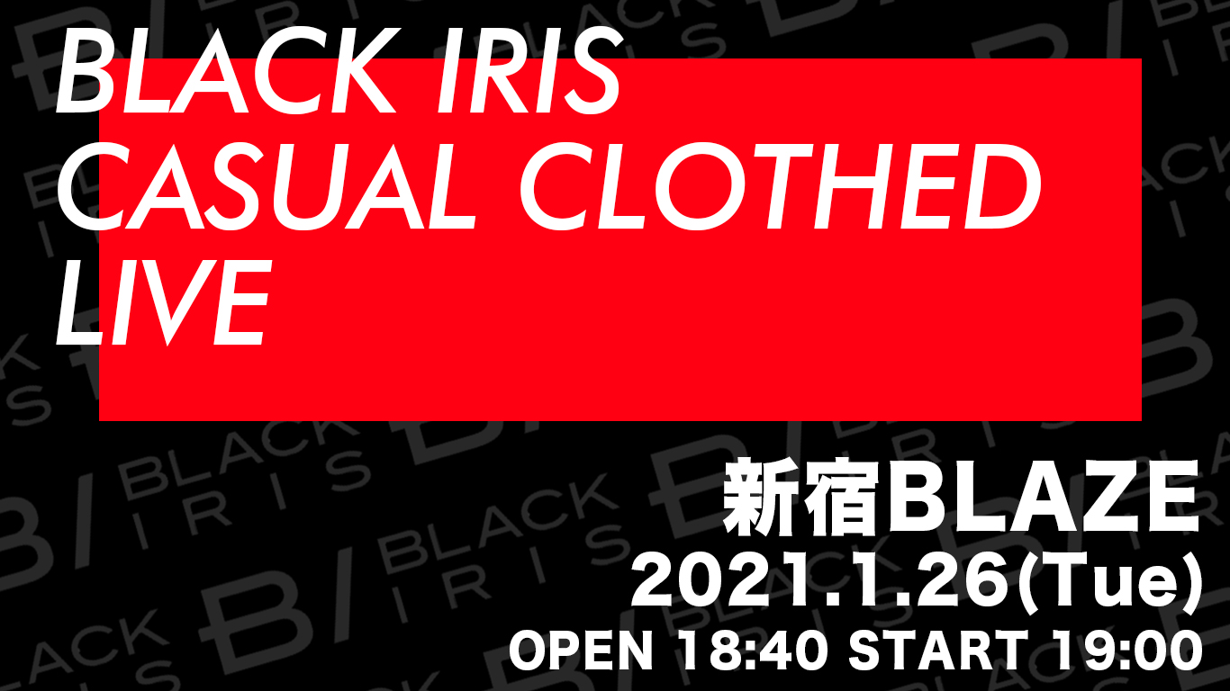 BLACK IRIS CASUAL CLOTHED LIVE