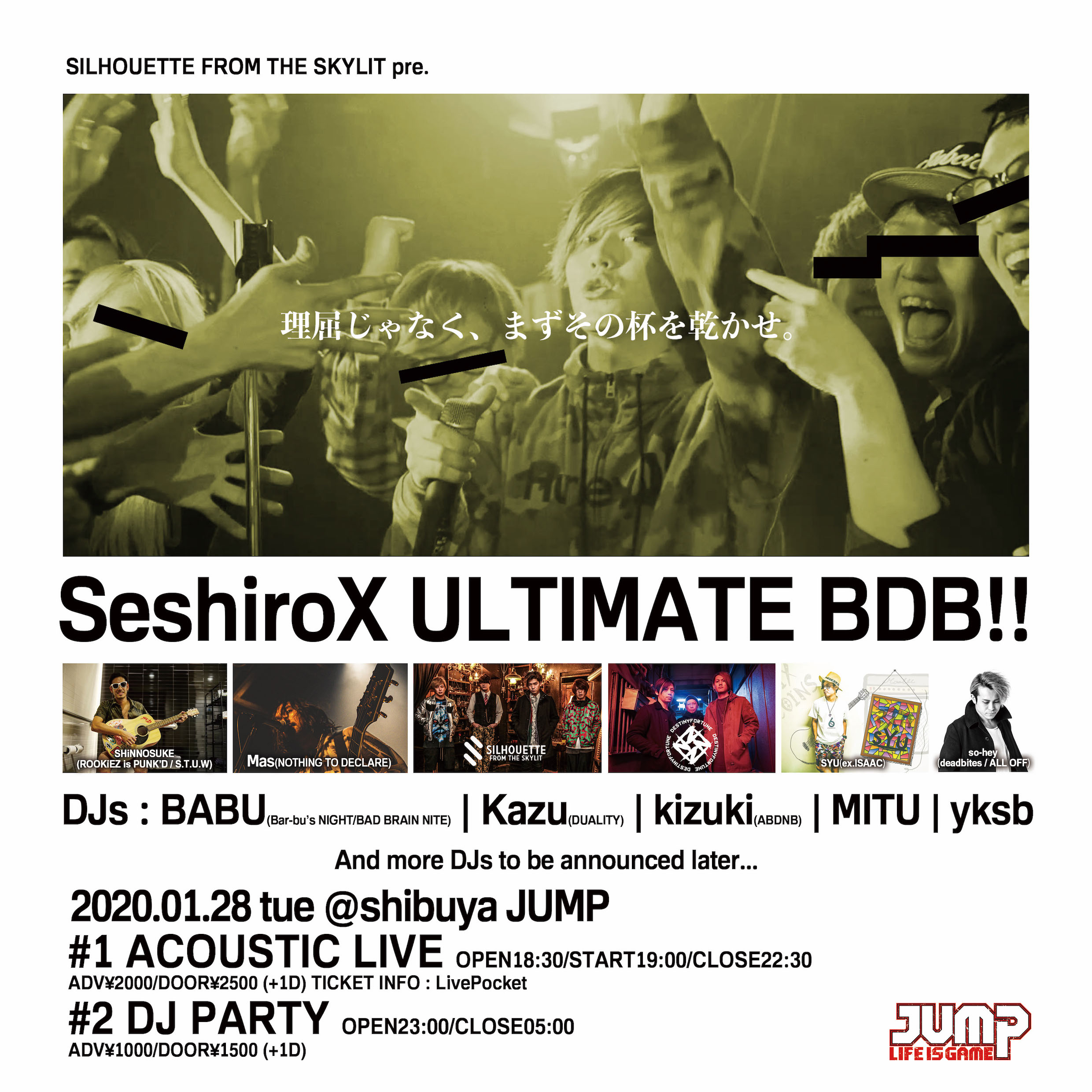 SILHOUETTE FROM THE SKYLIT pre. SeshiroX ULTIMATE BDB!!