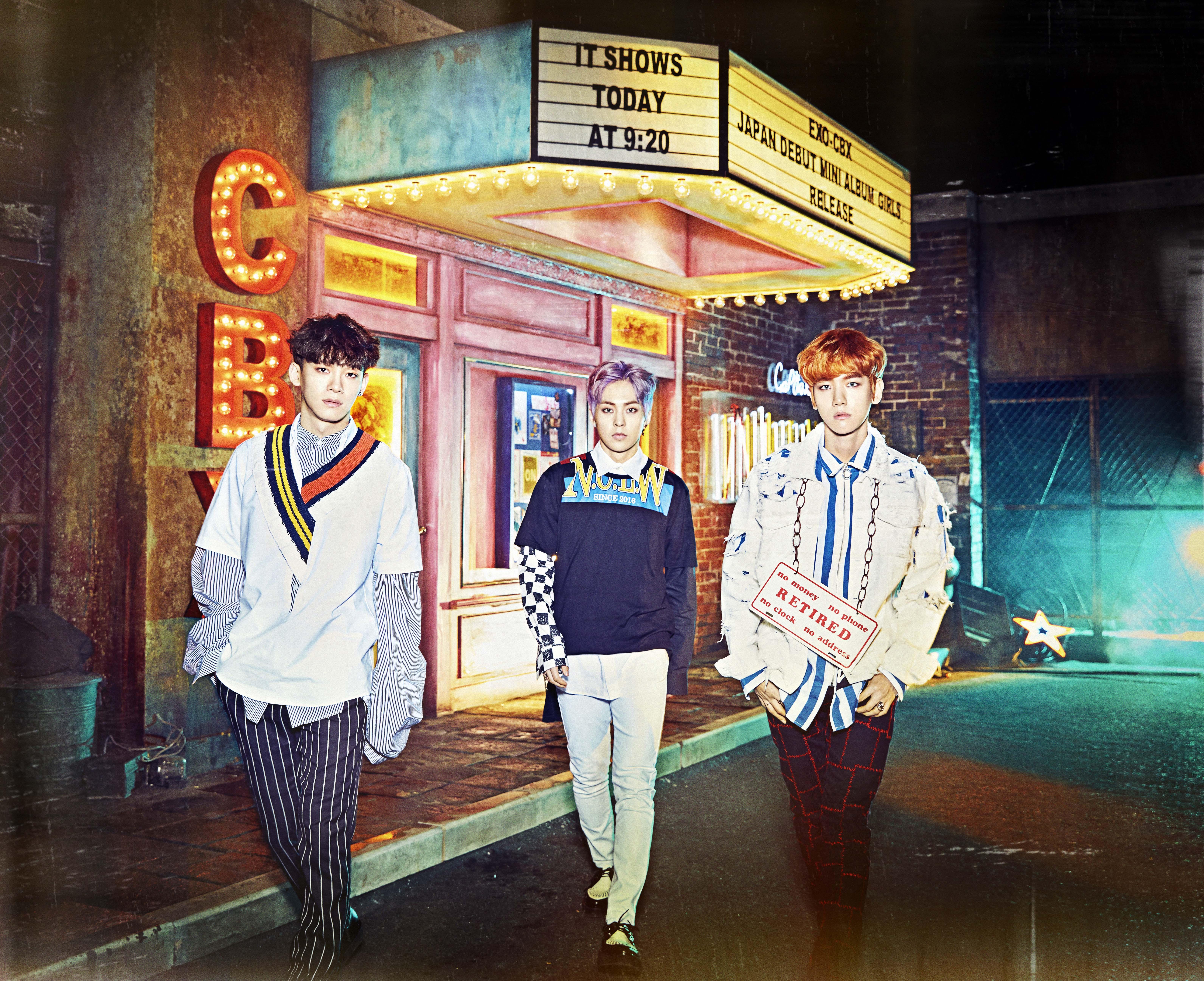 "EXO-CBX Free Showcase""Colorful Box"" オフィシャル無料ご招待"