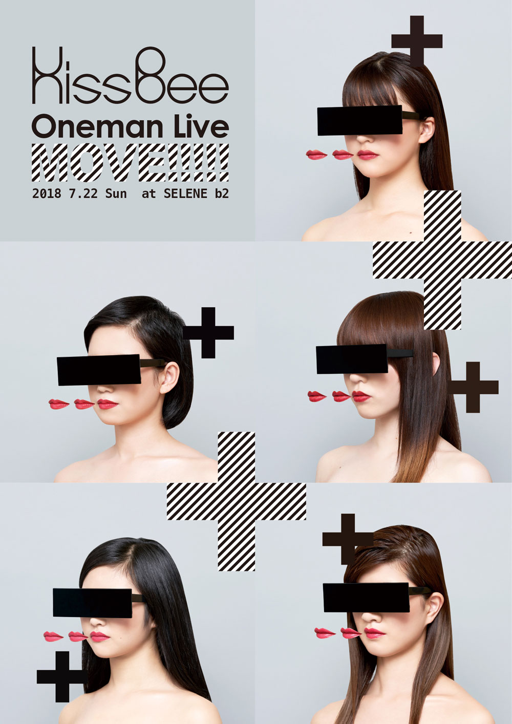 "KissBee Oneman Live ""MOVE!!!!!"" 撮影可能チケット"