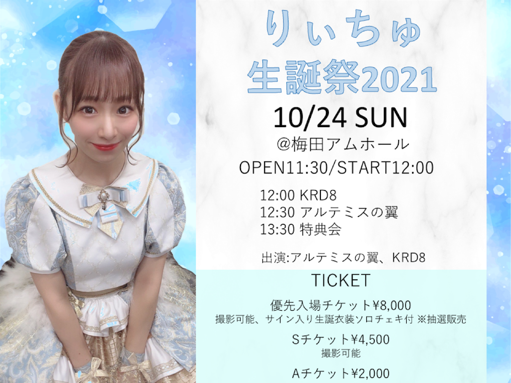 りぃちゅ生誕祭2021