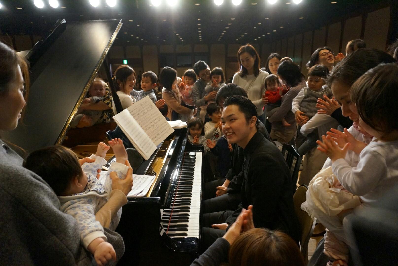 「0歳からのコンサート~2台のピアノ」