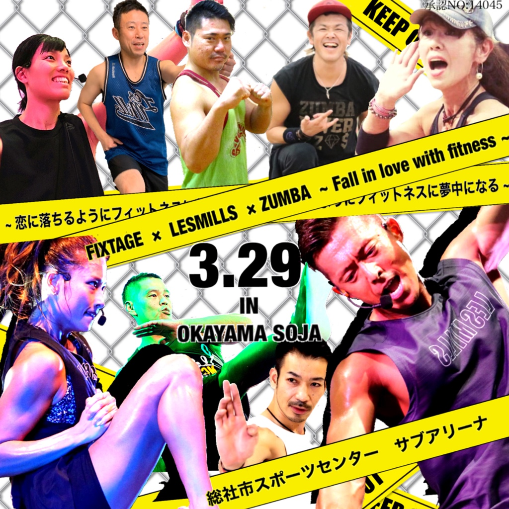 FIXTAGE × LESMILLS × ZUMBA  ~Fall in Love with Fitness~