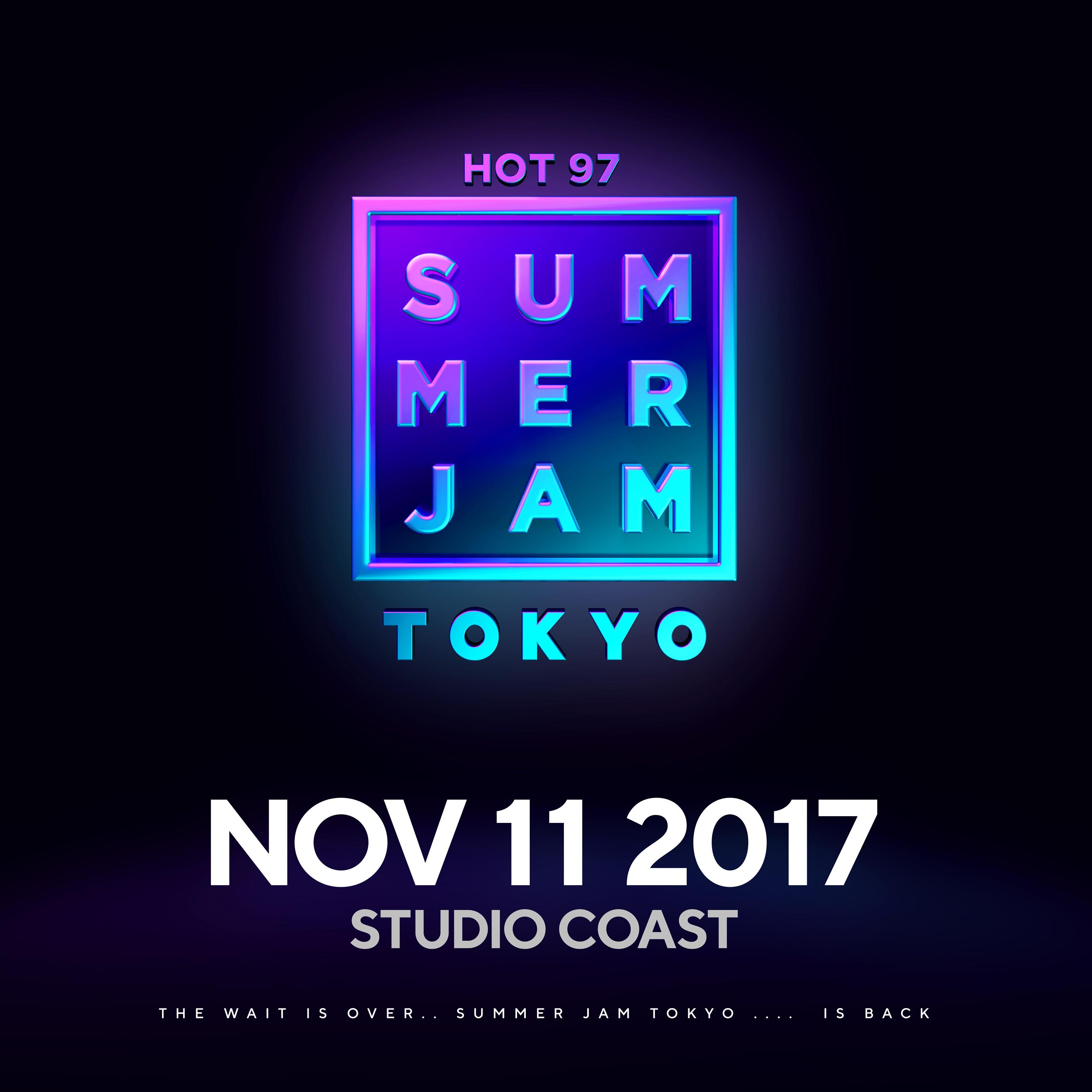 HOT 97 SUMMER JAM TOKYO 2017
