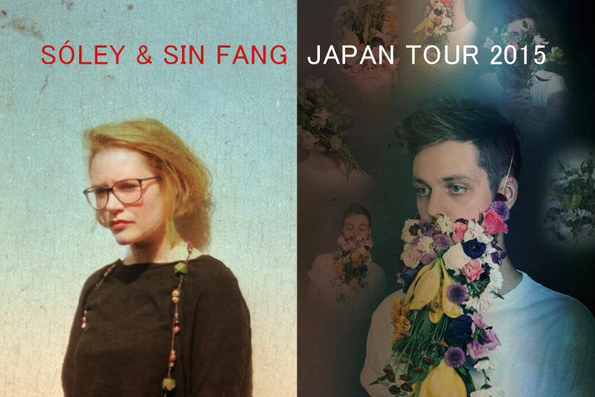 4/25(Sat) sóley & Sin Fang Japan Tour 2015
