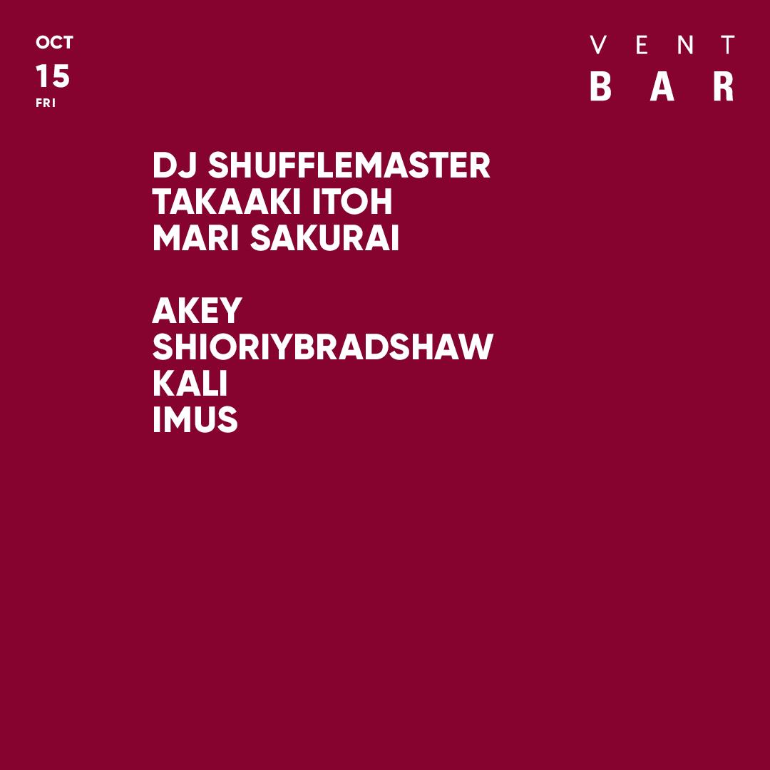 DJ SHUFFLEMASTER, TAKAAKI ITOH
