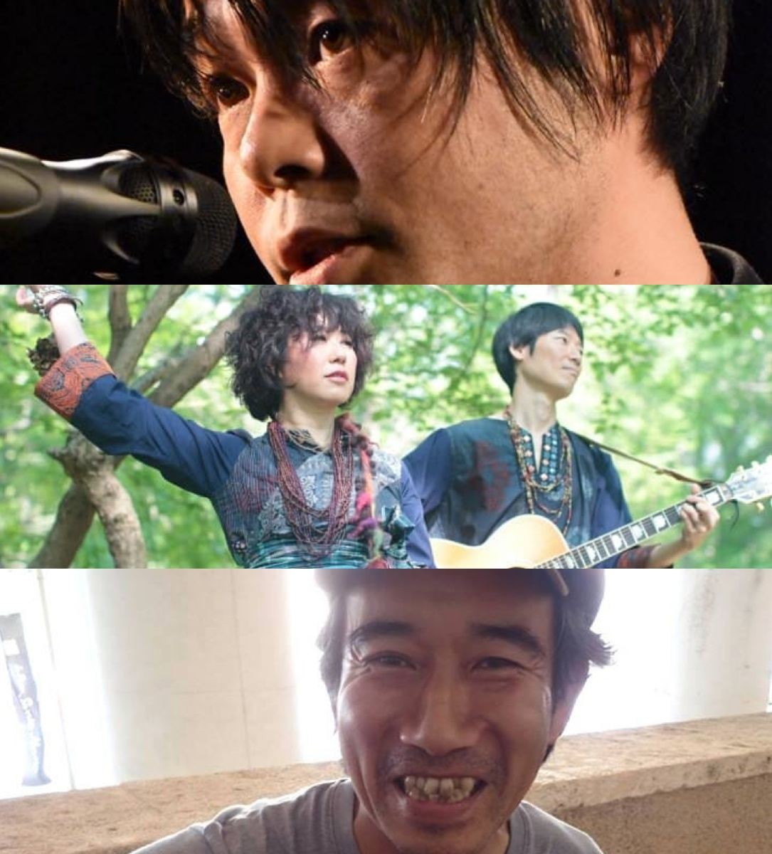 『酔いどれ詩人になるまえに』出演:アベヒロシ / 中馬すすむ / 青花+哲史