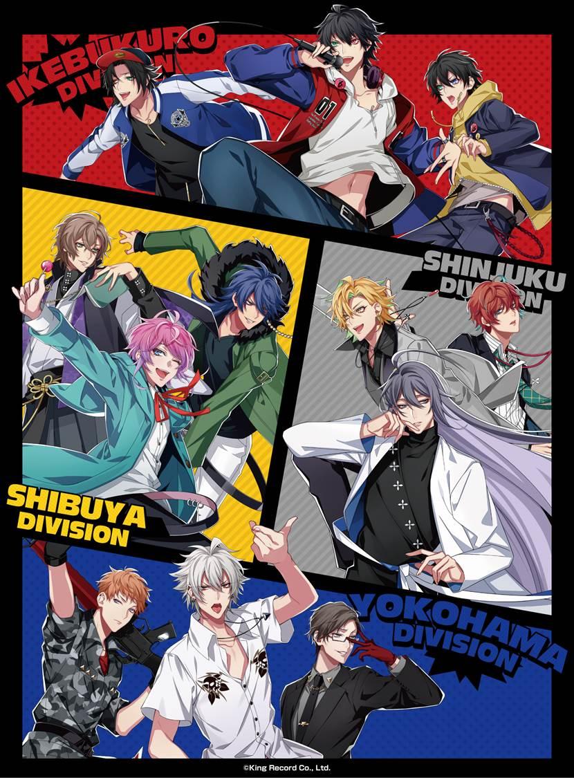 【アニONSTATION AKIHABARA本店】ヒプノシスマイク - Division Rap Battle -  Music Bar Party! REPRESENT ANION STATION