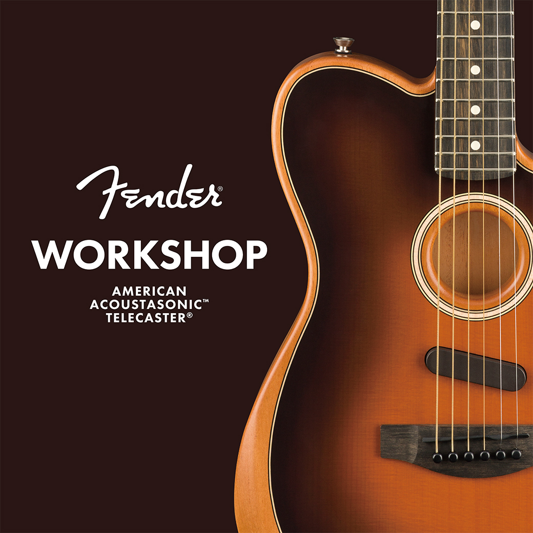 Fender AMERICAN ACOUSTASONIC TELECASTER WORKSHOP Vol.4