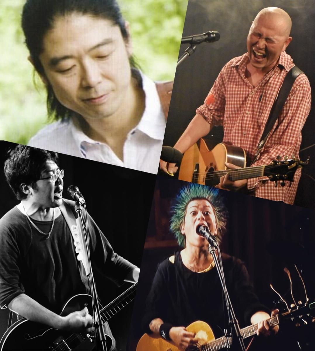 『転がる石 蹴飛ばす夜』出演:Tam / 耕時 / イシガミシンタロウ / tAttun