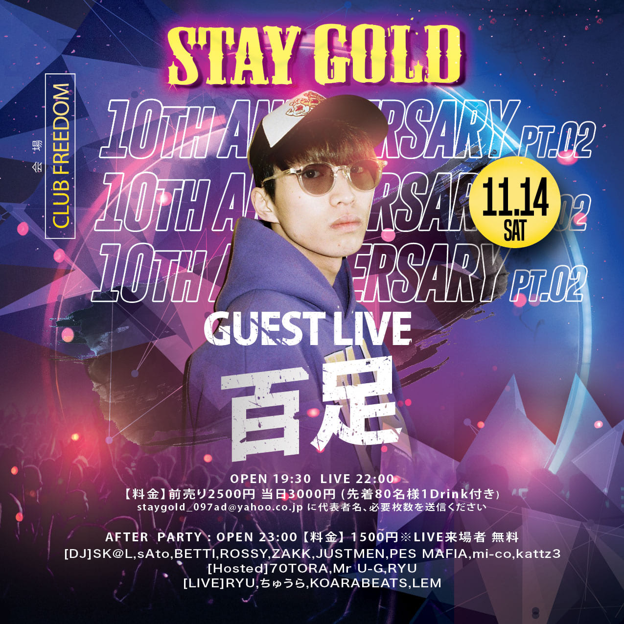 STAY GOLD 10Th ANNIVERSARY Pt.2