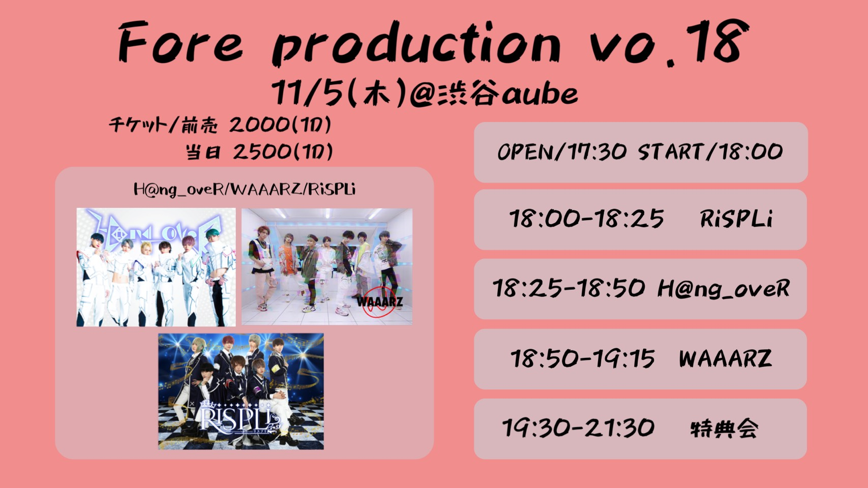 Fore production Vol.18