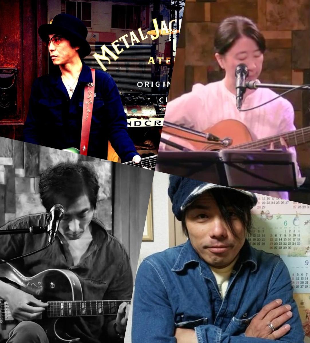 『月と太陽、そして君と僕〜ランデブー〜』出演:岩田亮 / 川口祥子 / 中馬昇 / ピース