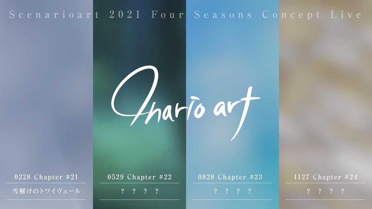 "Scenarioart 2021 Four Seasons Concept Live ""4narioart"""
