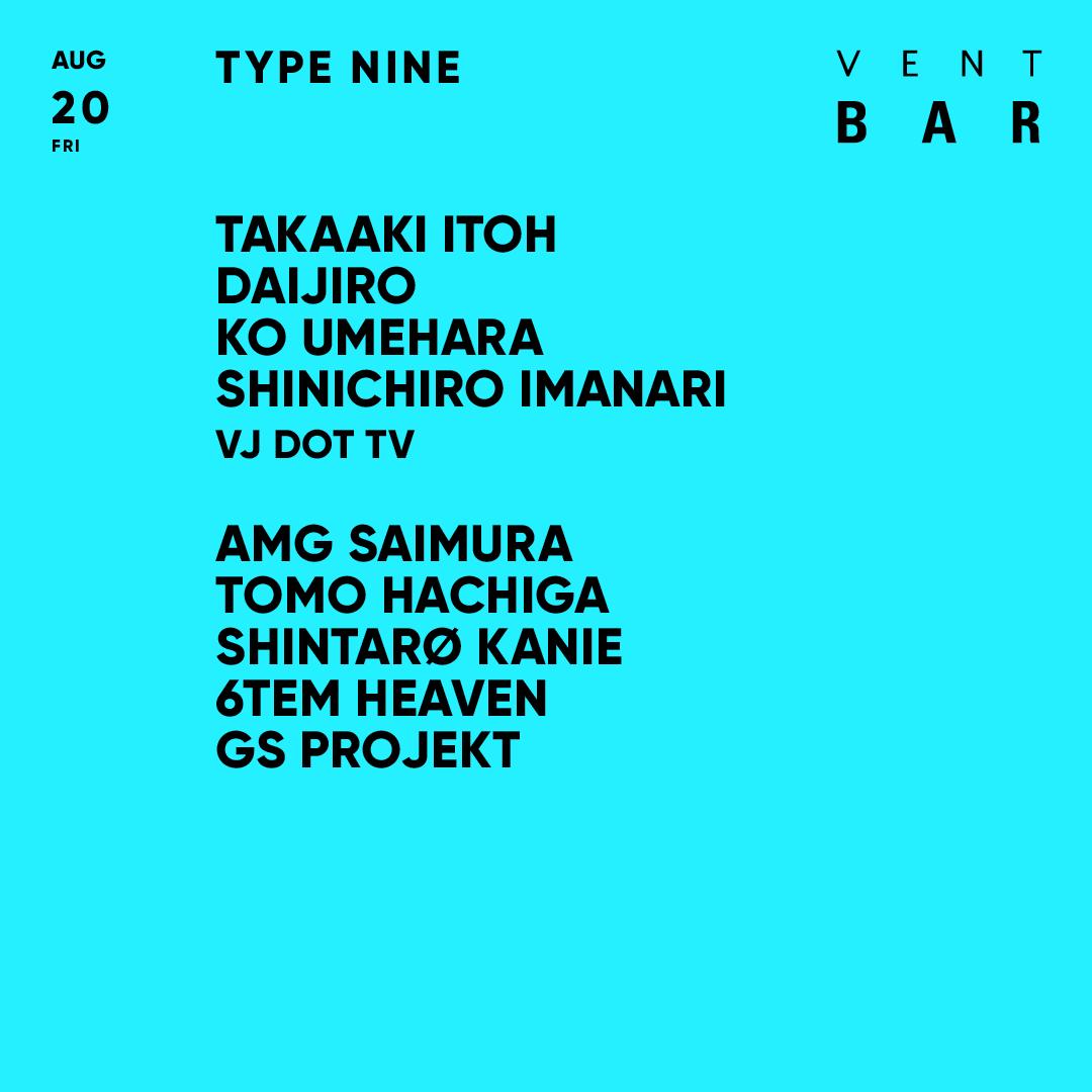 TAKAAKI ITOH / TYPE NINE