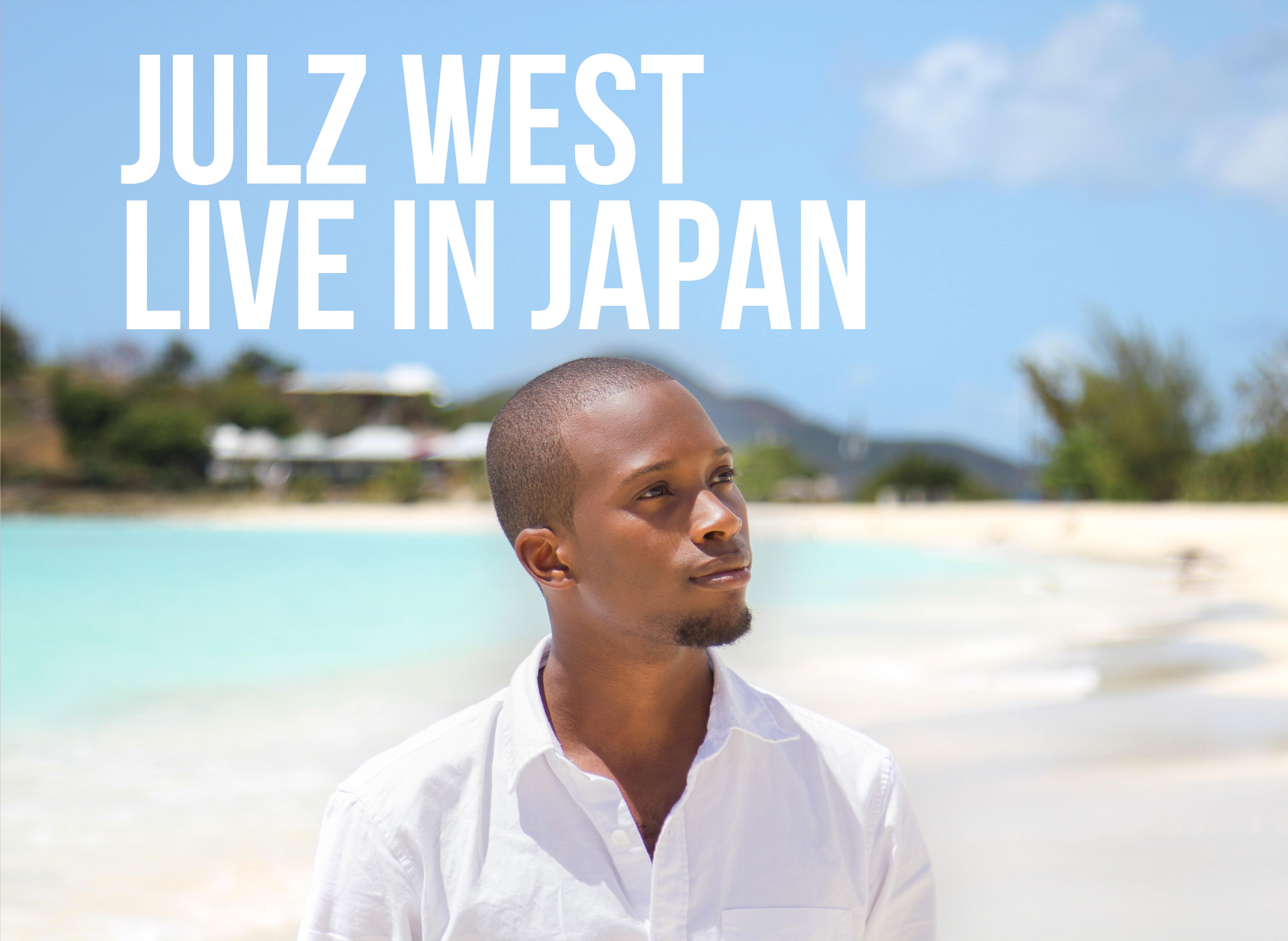 Julz West in Japan