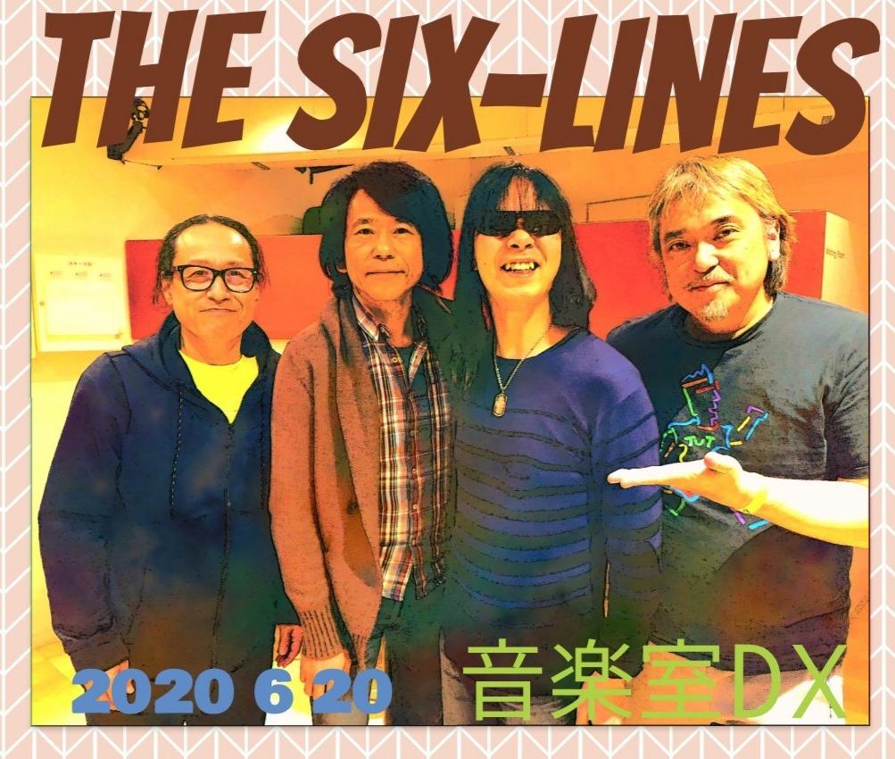 The Six-Lines 無観客配信ライヴ