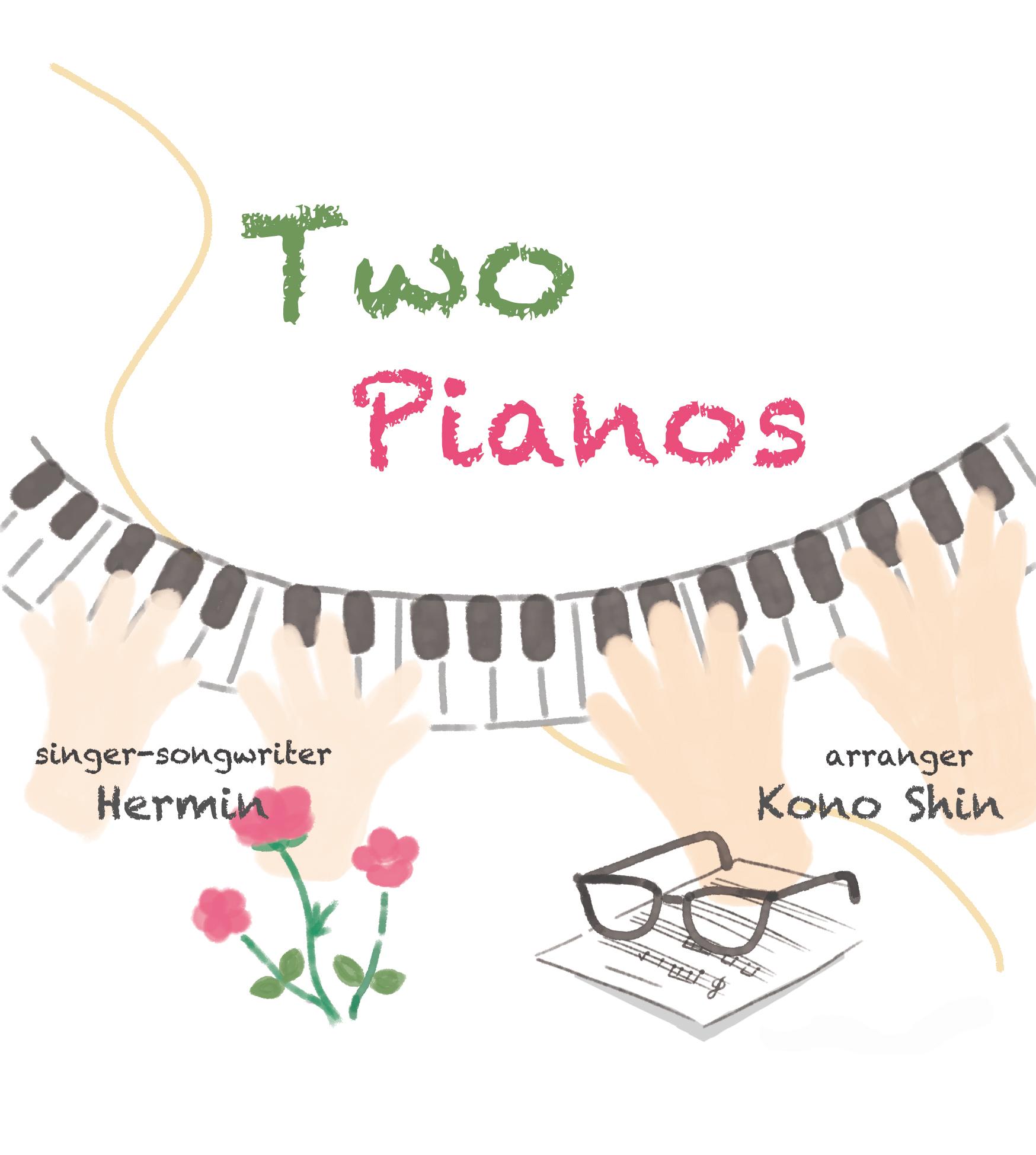 salon de Hermin vol.2 Two Pianos