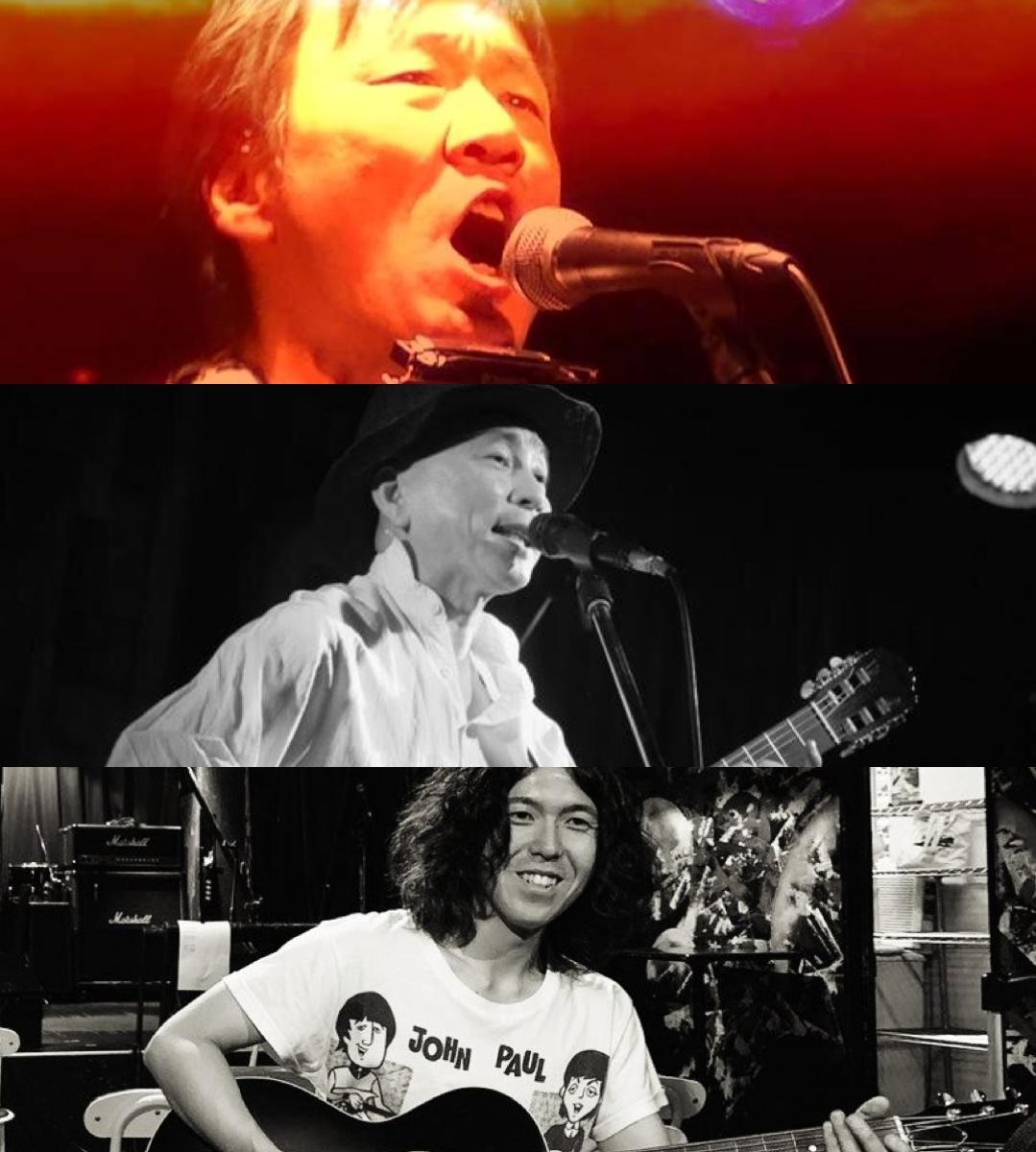 『Singin' Gypsies』出演:南松宏 / ヤマモトマサヤ / 岸田雄太