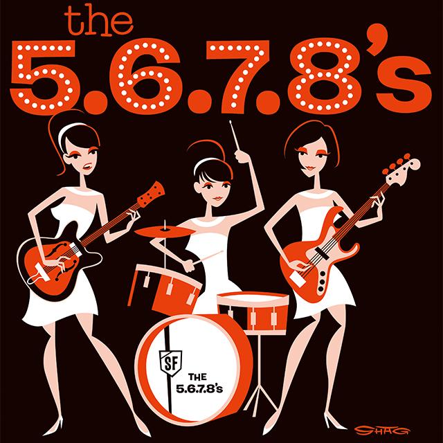 THE NEATBEATS/THE 5.6.7.8's/TH...