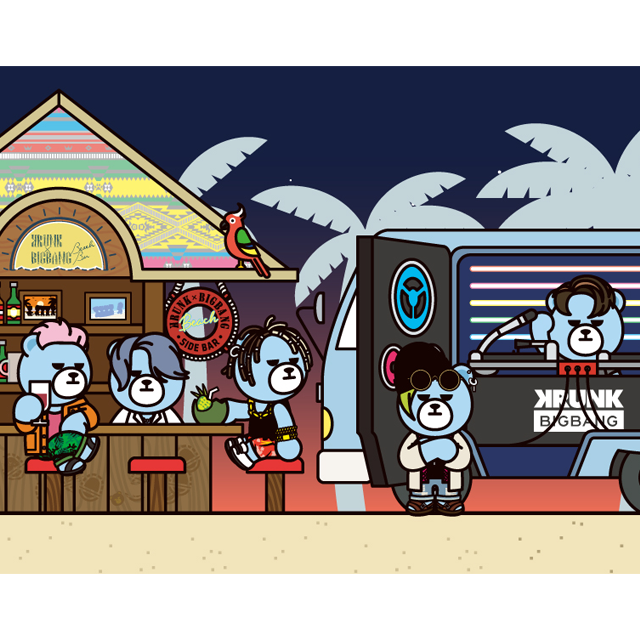 KRUNK×BIGBANG BEACH BAR 2017(大阪)