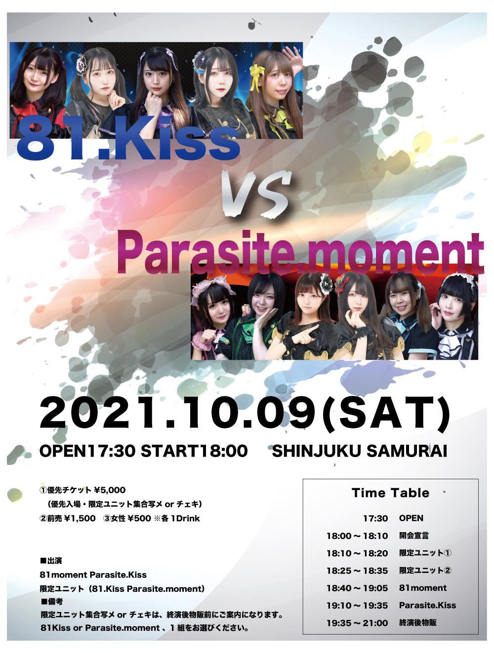 81.Kiss vs Parasite.moment
