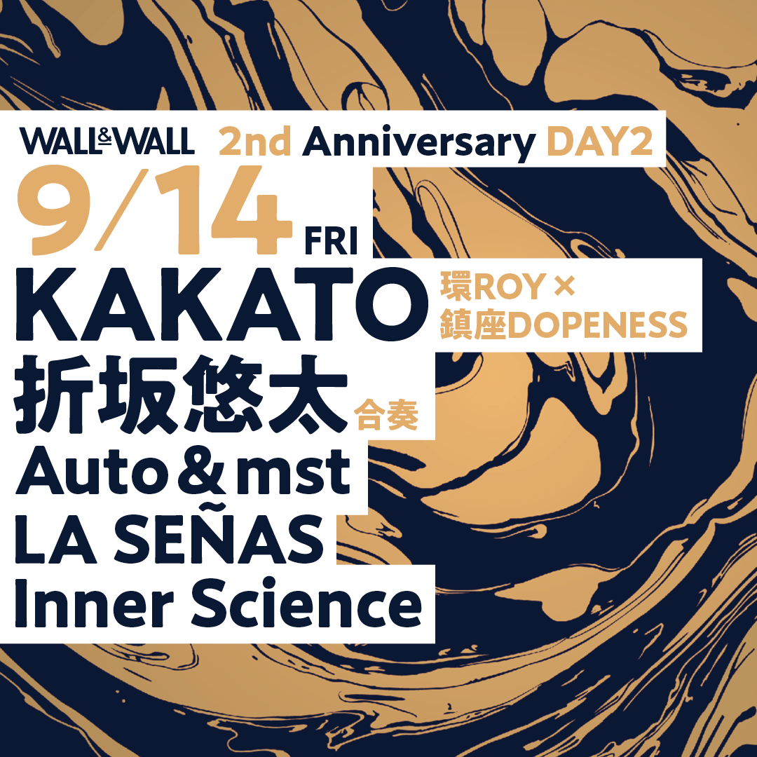 WALL&WALL 2nd Anniversary DAY2