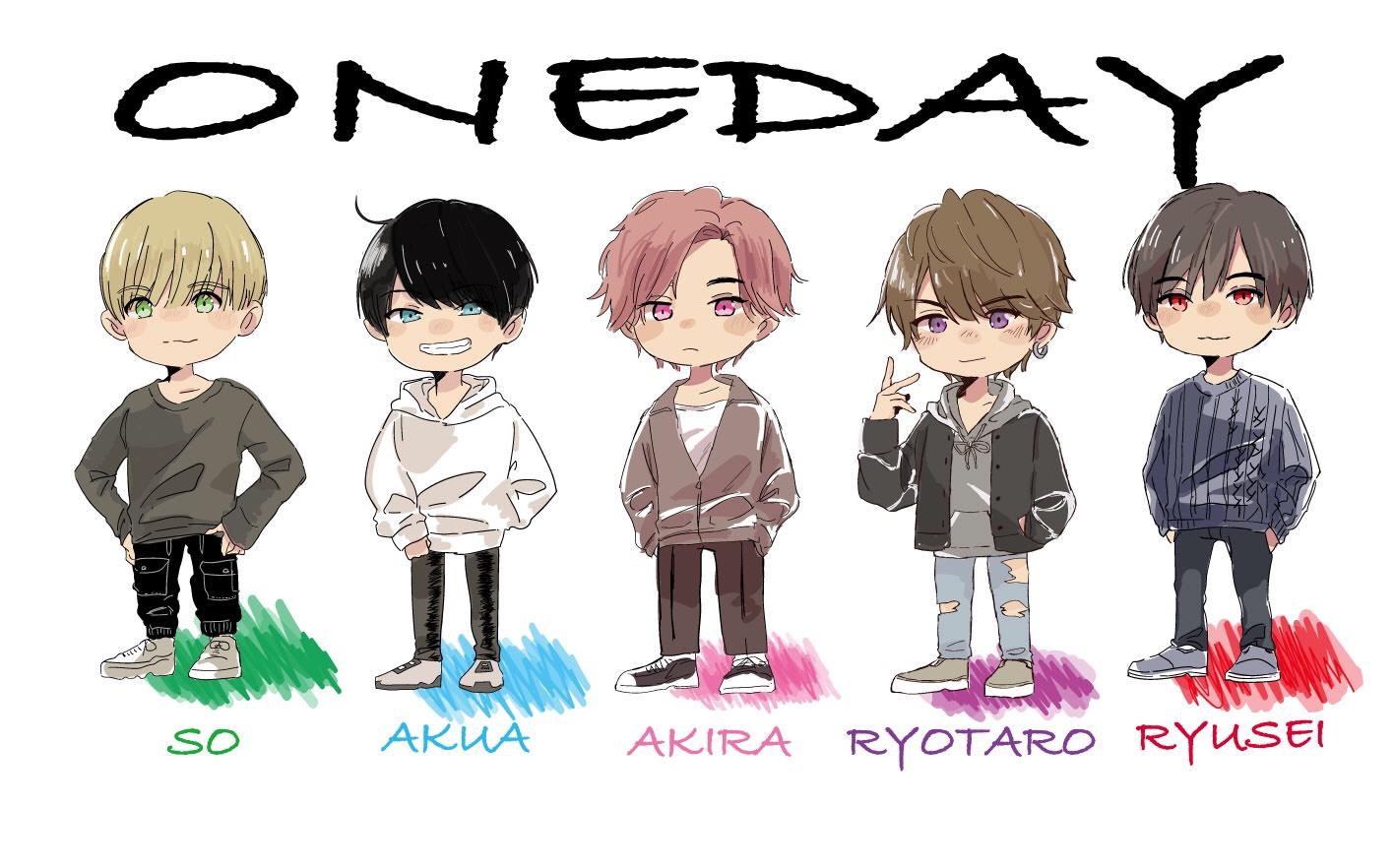 "ONE DAY  ""RYUSEI HAPPY DAY!"" 収録配信(エール)"